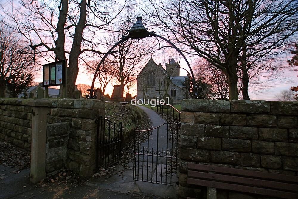 Easington Church Sunset 1 by dougie1
