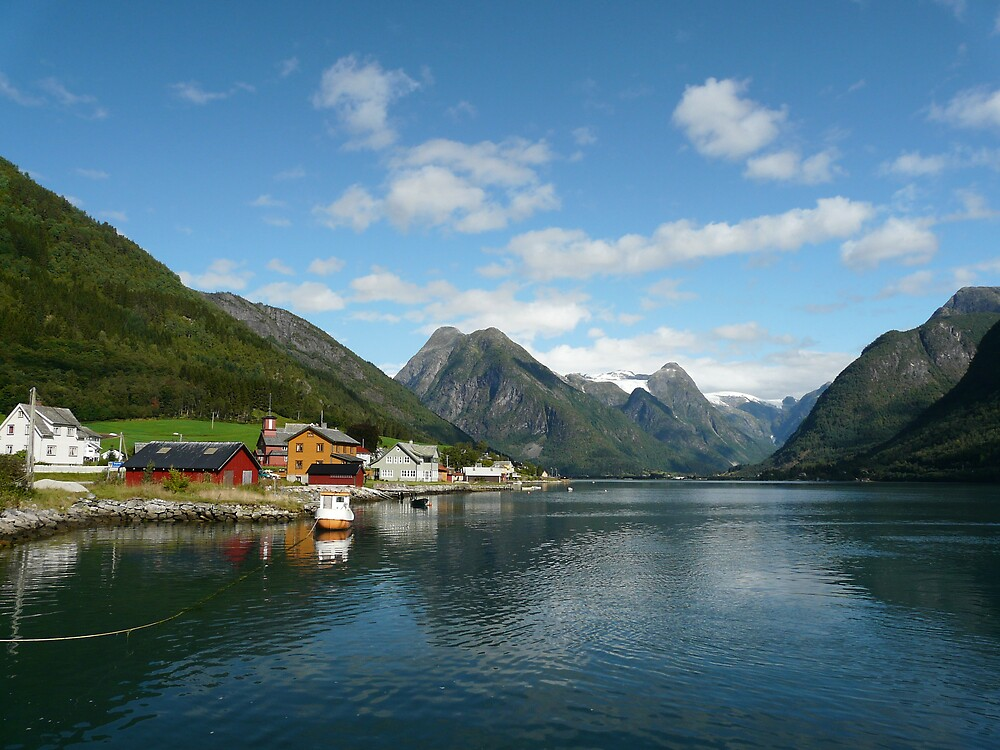Fjord Village by TimConrad