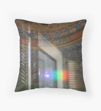 Crystal Reflections Throw Pillow