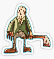 Jason Voorhees Caught Red-Handed Sticker