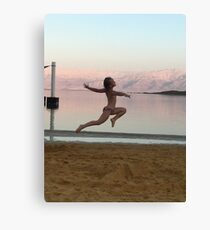 Dance, fly, smile!!! Canvas Print