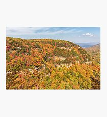 Colorful Cloudland Canyon in the Fall Photographic Print