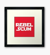 STAR WARS - Rebel Scum Framed Print