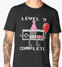 Level 9 Complete, 9th Birthday Gift Idea Men's Premium T-Shirt