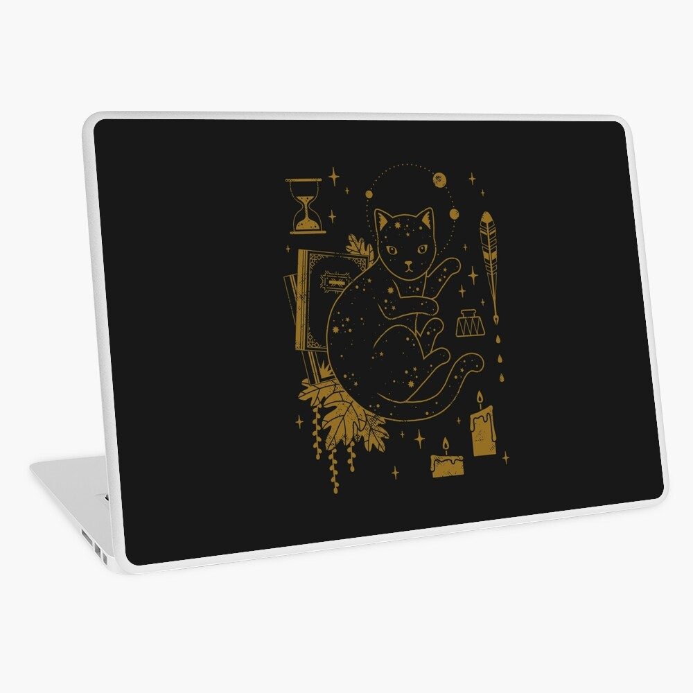 Magical Assistant Laptop Skin