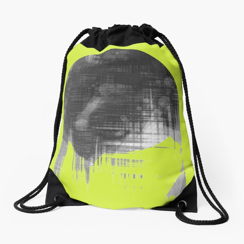 Analog Sunset Drawstring Bag