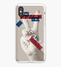 Peace to the People iPhone Case/Skin