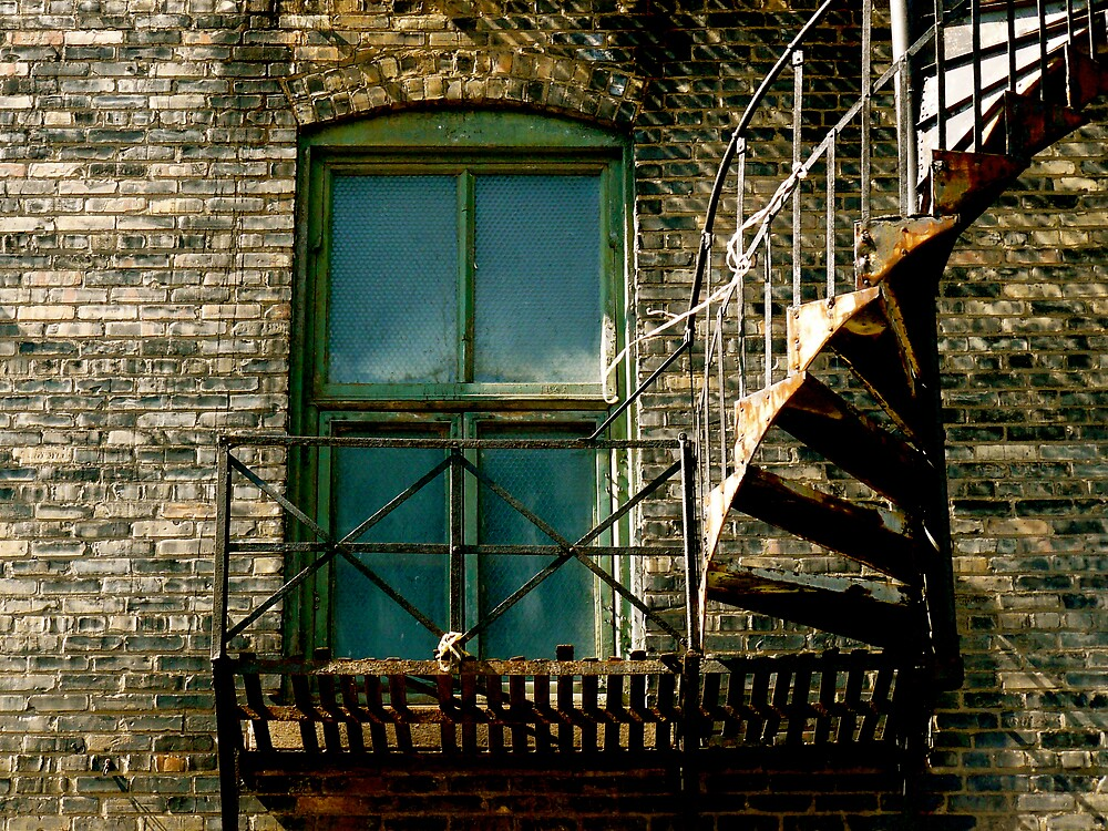 Fire Escape by henry2u