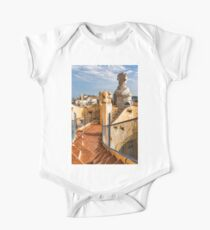 Gaudi's Fascinating Rooftop – Impressions Of Barcelona One Piece - Short Sleeve