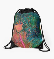 Festival Of Art... by sherriofpalmsprings Drawstring Bag