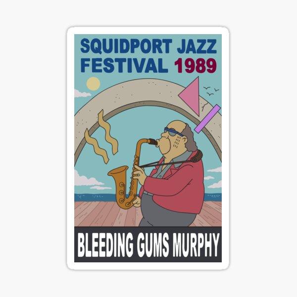 Bleeding Gums Murphy Sticker