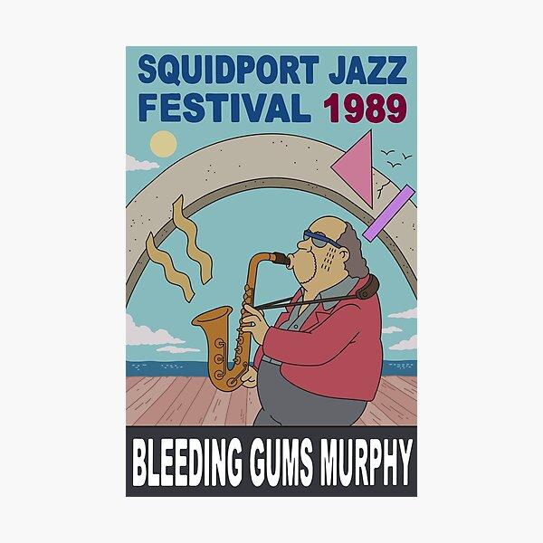 Bleeding Gums Murphy Photographic Print