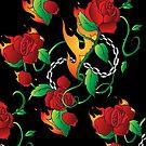 Rose on Fire by bettinadreier75