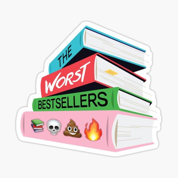#worstbetsellers Sticker