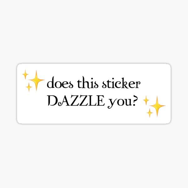 #dazzle Sticker