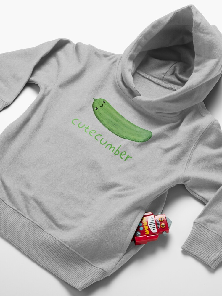 Alternate view of Cutecumber Toddler Pullover Hoodie