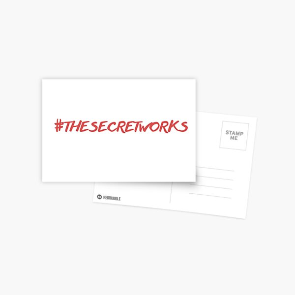 #thesecretworks Postcard