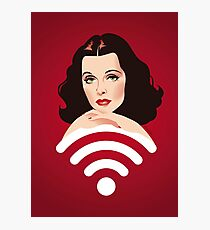 Hedy Wifi Photographic Print
