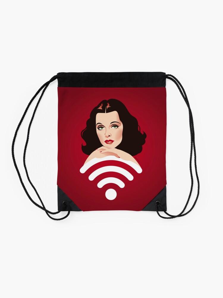 Alternate view of Hedy Wifi Drawstring Bag