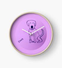 Dog - Chien - Martin Boisvert Horloge