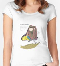 Heroic Butterfly Women's Fitted Scoop T-Shirt