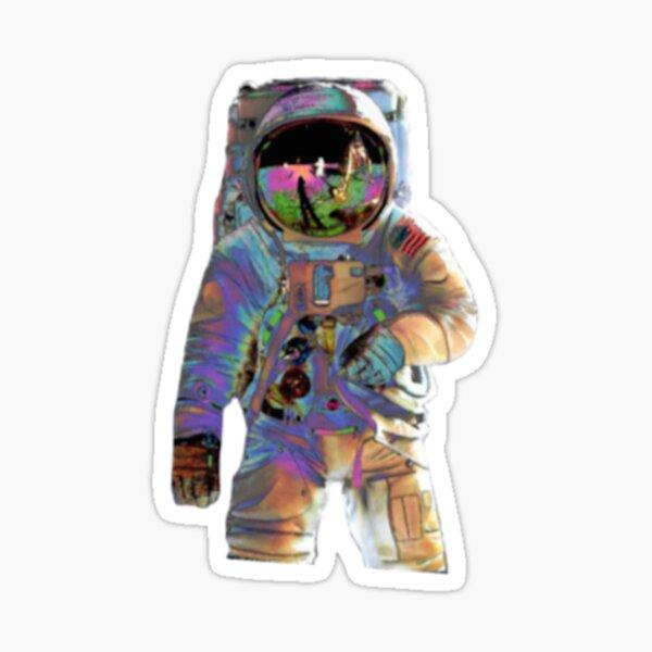 Trippy Astronaut  Sticker
