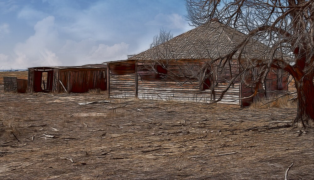Old House Fractalius by thegrizz15