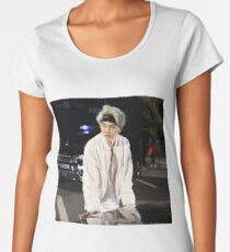 BTS SUGA Premium Rundhals-Shirt