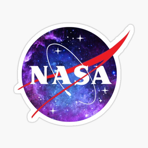 Nasa Galaxy  Sticker