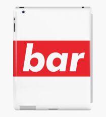 Bar iPad Case/Skin