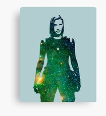 Starbuck - Battlestar Galactica Canvas Print
