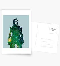 Starbuck - Kampfstern Galactica Postkarten