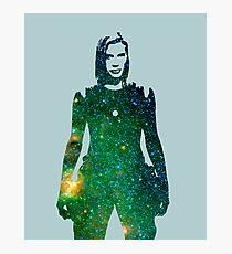 Starbuck - Battlestar Galactica Photographic Print