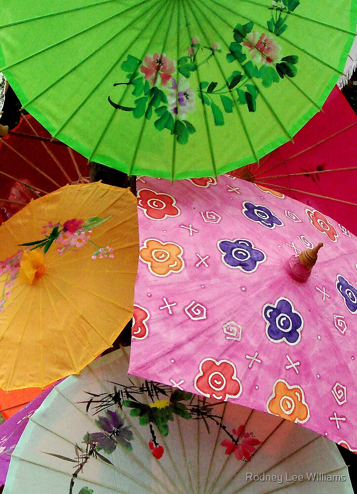Parasols 2 by Rodney Lee Williams