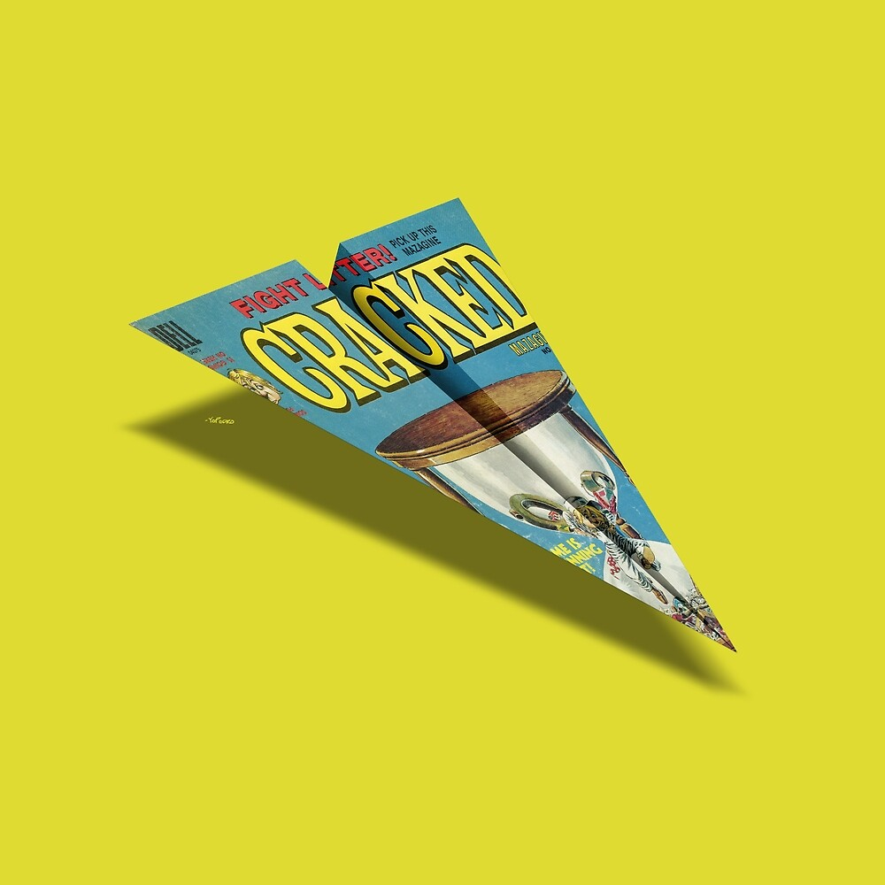 MAG Paper Airplane 109 by YoPedro
