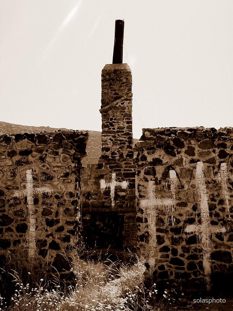Desert Crosses by solasphoto
