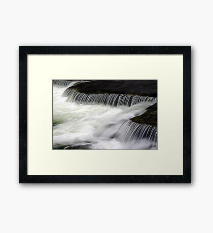 Above Chittenango Falls Framed Print