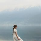 wading in water by Joana Kruse