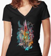 Xenoblade Chronicles™ 2 - Team Women's Fitted V-Neck T-Shirt