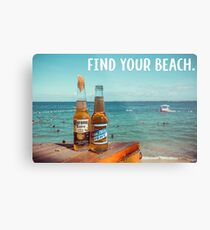 Find Your Beach Metal Print