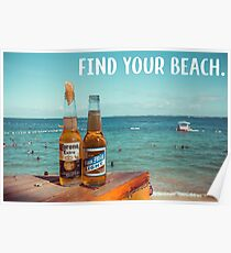 Find Your Beach Poster
