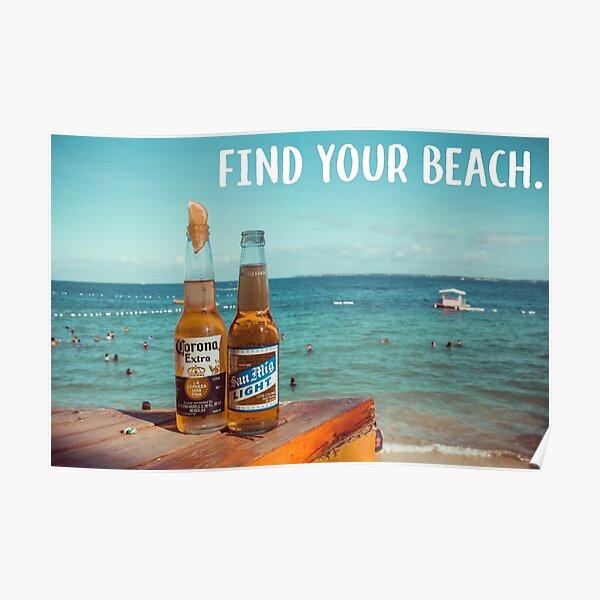 ENJOY MEXICO GIRL BEACH TRAVEL TOURISM COAST SEA MEXICAN VINTAGE POSTER REPRO