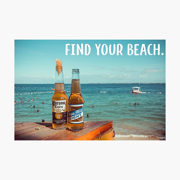 Find Your Beach Photographic Print