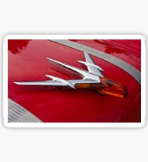 1955 Pontiac Chief Hood Ornament Sticker