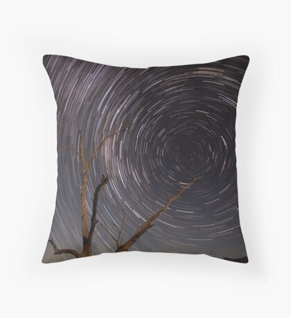 Path To The Wormhole Throw Pillow