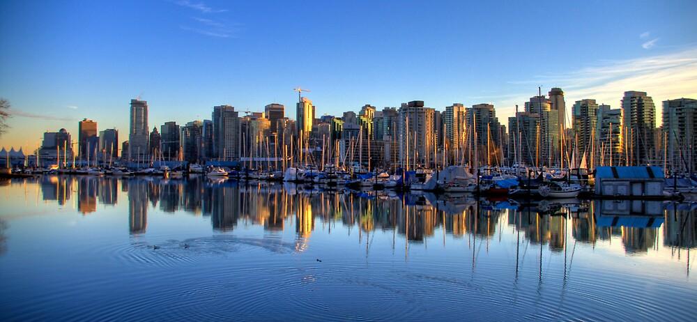 Vancouver: Coal Harbor by Jackson Chu