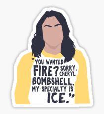 Veronica Lodge / Riverdale  Sticker