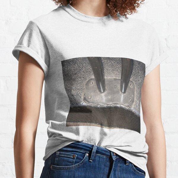 Metal, metal bollards, metal porch, sun glares Classic T-Shirt