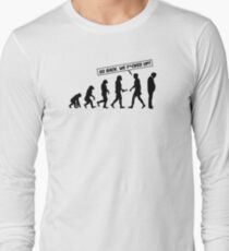 Go back evolution - Trump Long Sleeve T-Shirt