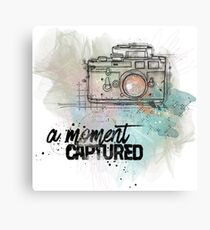 A Moment Captured Canvas Print